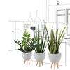 Set-de-3-pots-de-plantes-artificielles-design-gris-beton