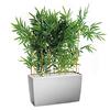 Bambou semi naturel pour bureau bac argent