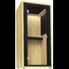 cabine acoustique phonebox en bois de frêne