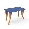 1. TABLE MODULABLE BUREAU INCLINE BLEU