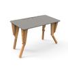 1. TABLE MODULABLE BUREAU INCLINE GRIS