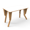 2. TABLE MODULABLE OPTION VELLEDA BUREAU INCLINE BLANC