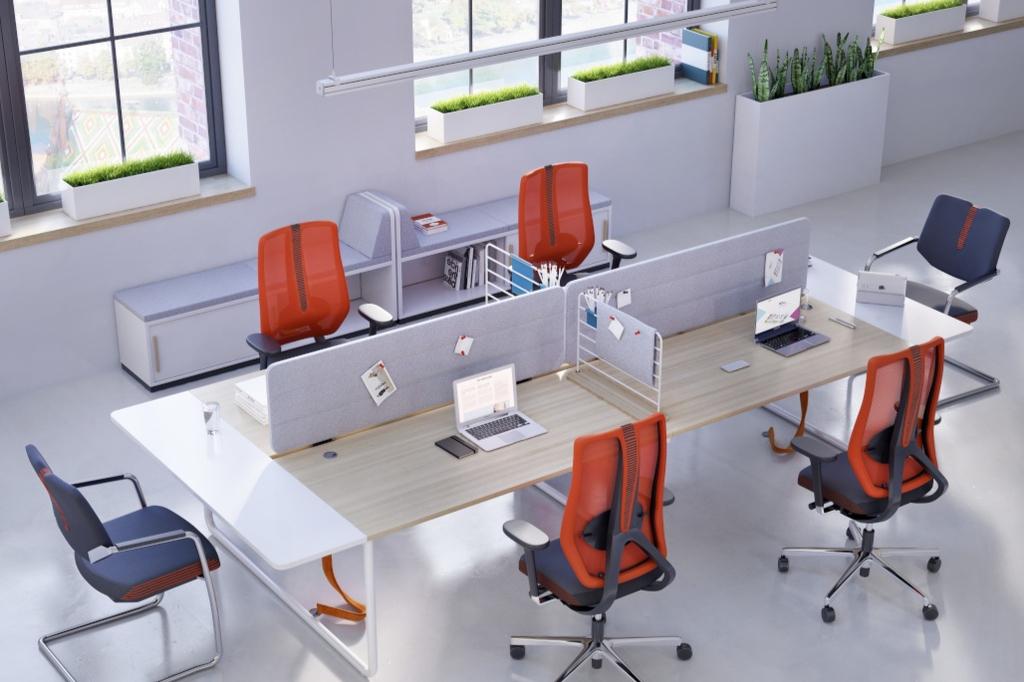 bureau bench design pour openspace 2 4 ou 6 postes. Black Bedroom Furniture Sets. Home Design Ideas