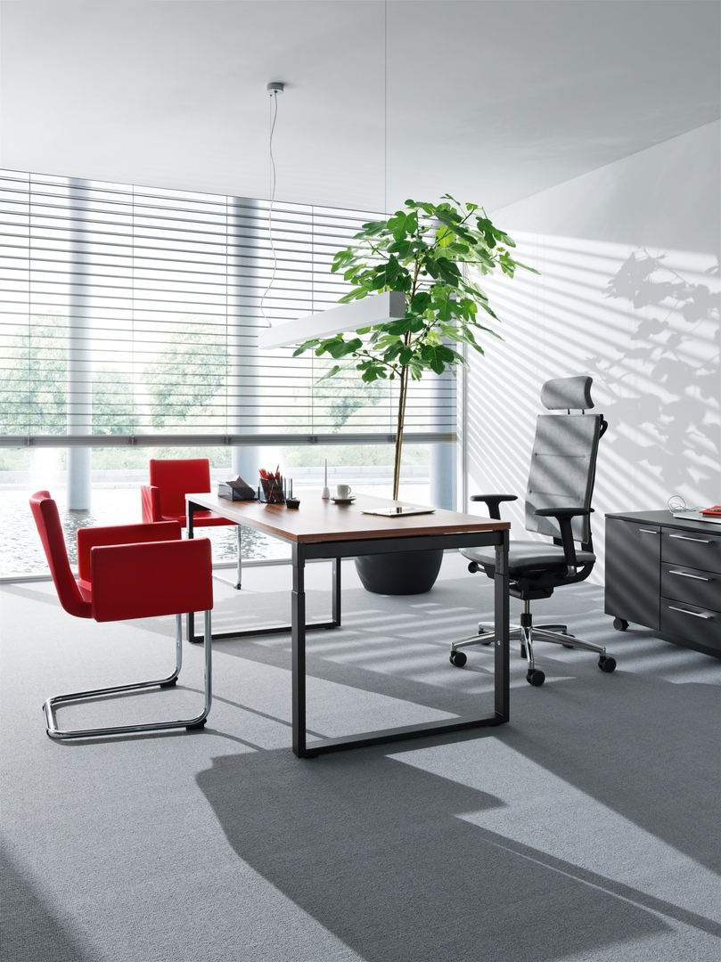 bureau individuel pi tement ferm. Black Bedroom Furniture Sets. Home Design Ideas