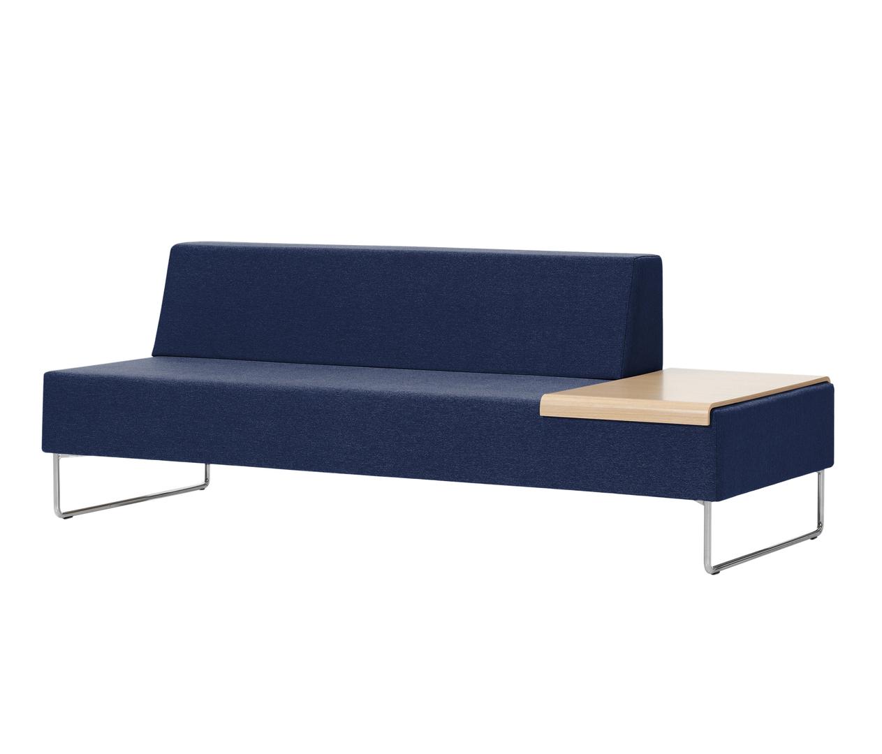 canap design 200 cm avec petite table int gr e pour bureaux. Black Bedroom Furniture Sets. Home Design Ideas
