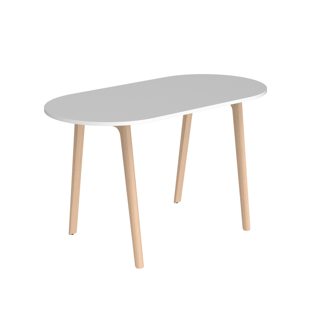 Awesome table haute ovale pictures for Table haute design scandinave