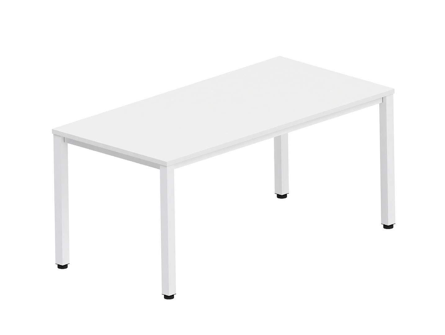 bureau simple blanc pas cher et individuel. Black Bedroom Furniture Sets. Home Design Ideas