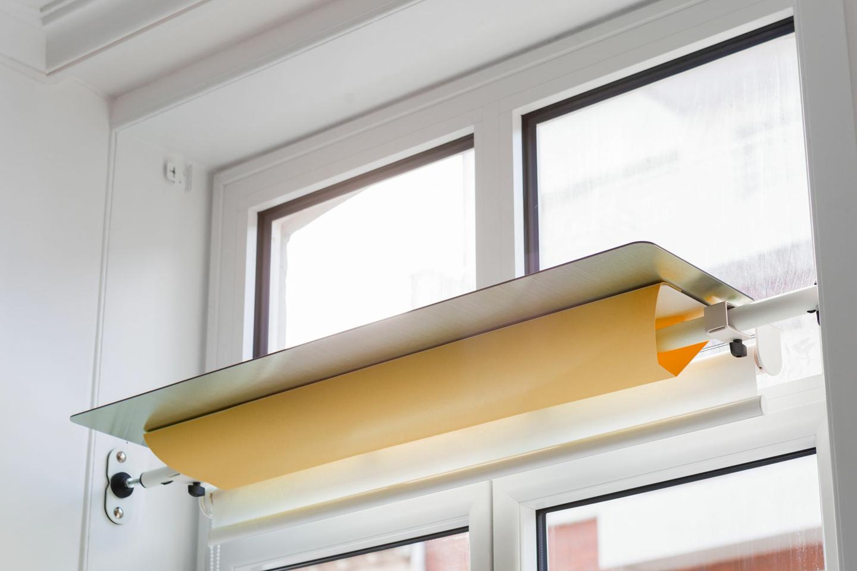 réflecteur-de-lumière-jaune