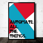 Poster Automate All the things