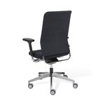 Chaise de bureau ergonomique à roulettes