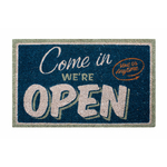 Paillasson Come in We're open