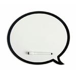 Tableau blanc en forme de bulle