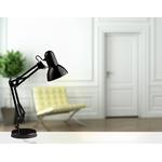Lampe de bureau noire style architecte