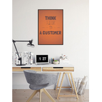 think_like_customer_poster_service_client_bureau
