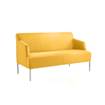 Canapé jaune pour accueil