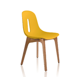 Chaise jaune pour salle de réunion