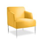 Siège d'accueil jaune