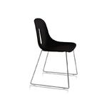 Chaise empilable noire
