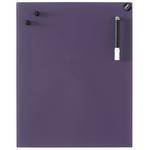 Tableau magnétique violet en verre