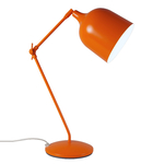 Lampe de bureau architecte orange