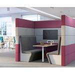 Salle de réunion mobile et acoustique