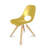 chaise-réunion-bois-jaune