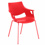chaise_empilable_rouge