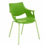 chaise_empilable_verte_citron