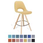 Chaise haute tapissée