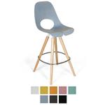Chaise haute avec pieds en bois