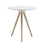 Table d'appoint ronde scandinave