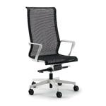 Chaise de bureau à roulettes avec soutien lombaire