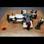 Espace de réunion informelle et brainstorming