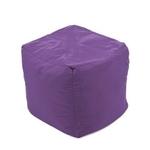 Pouf violet cube