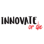 "Stickers ""Innovate or Die"" pour bureau"