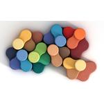 pouf design et coloré