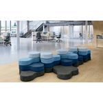 pouf design pour bureau et accueil