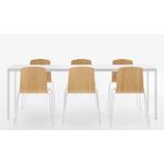 table de réunion blanche pour bureau