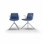chaise-de-réunion-tapissée-bleu-foncé