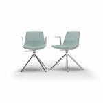 chaise-de-réunion-tapissée-gris-bleu