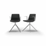 chaise-de-réunion-tapissée-noir