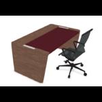 bureau de direction en bois et cuir