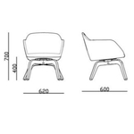 dimensions fauteuil lounge