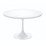 Table cafétéria ronde