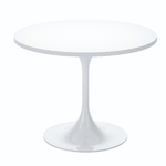 table de cafétéria ronde 100 cm