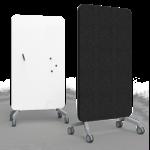 Tableau magnétique mobile et acoustique 100 cm