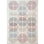"""Tapis de bureau coloré design """"résonances"""""""