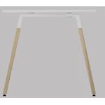 profil piétement bureau design en bois