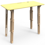 table modulable debout