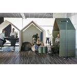 cabine acoustique verte